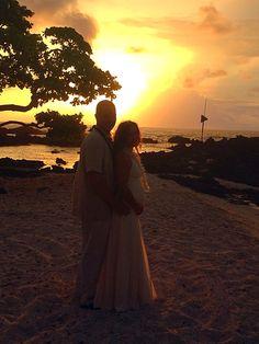 Wedding on 8/17/15... #SimpleKonaBeachWeddings #HawaiiWeddings Kona Beaches, Kona Coast, Beach Weddings, Hawaii Wedding, Big Island, Hawaiian, Couple Photos, Simple, Couple Pics