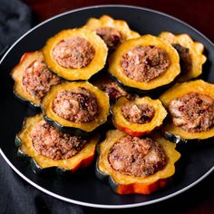Quinoa-Stuffed Acorn Squash Rings Recipe