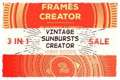 @newkoko2020 Circle Creators • 3 IN 1 by Vintage Voyage Design Co. on @creativemarket #vintage #graphic #discount #buy #quality