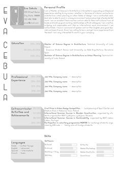 Architecture Design Resumes architecture cv on behance | cv | pinterest | behance, portfolio