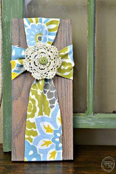 DIY decoration fabric cross