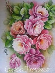 Resultado de imagen para casa do artesanato pintura em tecido dalva