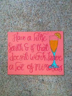 Gossip Girl Quote on Canvas Panel. $30.00, via Etsy.