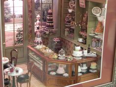 Seattle Show Sept. 2012 - Angelika Oeckl, my dream is to make a mini bake shop just like this...