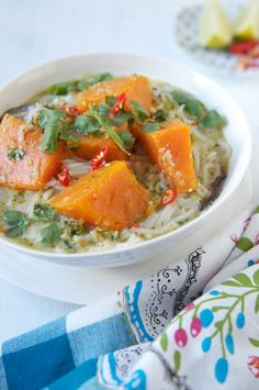 Pumpkin Laksa, Malaysian comfort food
