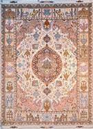 Tabriz Silk Persian Rug
