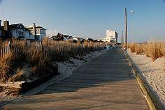 Rehoboth Beach DE, the boardwalk.