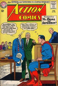 The Superman Fan Podcast: Episode #306: Superman Comic Book Cover Dated June...