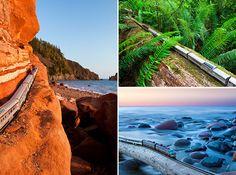 A incrível viagem de um trem miniatura pelas melhores paisagens do Canadá
