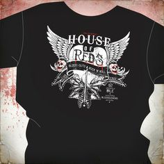 The dirty south might have the House of Blues. but up here in the north. we've got the House of Reds. Haunted Attractions, Blues, Red, Mens Tops, Fashion, Moda, Fashion Styles, Fashion Illustrations