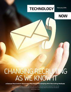 Big Data is Advancing Recruiting Methods