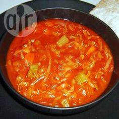 Recipe Picture:Cabbage and Tomato Soup