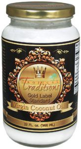 Review of Tropical Traditions Gold Label Virgin Coconut oil blog post by Natural & Frugal: raising 6 kids ......Natural & Frugal: raising 6 kids on facebook & @NaturalCheree on Twitter & Just Cheree on Pinterest