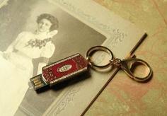 jeweled flash drive