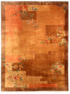Chinese Art Deco carpet - Chinese Deco Rug - Vintage Rug - BB4123 by Doris Leslie Blau