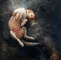 "Saatchi Online Artist Christopher Slaymaker; Painting, ""Liberated Vulnerability"" #art"