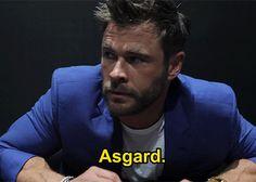 Stubborn — marvelentertainment: Chris Hemsworth picks his...