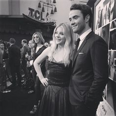 The perfect Mia and Adam. If I Stay's Chloe Grace Moretz and Jamie Blackley.   If I Stay Premiere