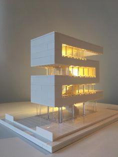 Architecture Lego, Lego Architecture Studio, Harm Bron, Am - Projets architecturaux . Conceptual Model Architecture, Architecture Model Making, Architecture Concept Drawings, Studios Architecture, Architecture Details, Interior Architecture, Amsterdam Architecture, Lego Studios, Lego City Sets