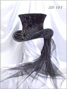 ZD101<br/>Damen-Zylinder<br/>ladies' top hat