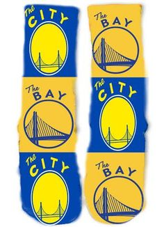 Please email us if you need a custom pair of socks! We can print anything on socks. Basketball App, Basketball Bedding, Warriors Gear, Curry Warriors, Crazy Socks, Cool Socks, Golden State Warriors Wallpaper, Warrior Outfit, Nike Pros Sports Bras