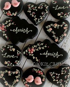 Valentine Sugar Cookies: 106 Yummy Example and Ideas Fancy Cookies, Iced Cookies, Cute Cookies, Cupcake Cookies, Valentine's Day Sugar Cookies, Heart Cookies, Cookies Decorados, Galletas Cookies, Valentines Day Cookies