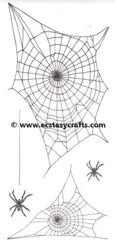 **** Marianne Designs Clear Stamp: Tiny's border: Spider web