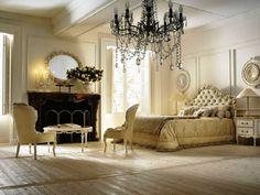 classic bedroom interior design Archives - Home Design Inspiration Italian Interior Design, Classic Interior, Luxury Interior, Luxury Decor, Interior Ideas, Monochrome Interior, Contemporary Interior, Victorian Bedroom, Bedroom Vintage