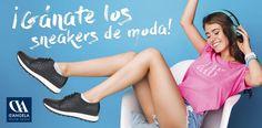 Gana las sneakers de moda con D'Angela