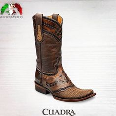 28 Mexican artisans work together to create the hand-dyed vintage look on these limited & unique Cuadra handmade leather western boots! Shop in Vancouver or online  for Canada #cuadraboots #handmadeboots #crocodileboots #exoticskin #leatherboots #mensboots #leathercraft #handmade #handcrafted #handdyed #luxuryboots #westernboots  #cowboyboots #westernstyle #westernlifestyle #canadiancountry #bestwesternbootsincanada #bestwesternbootsinvancouver #calgarystampede #cloverdalerodeo www.xixo.ca