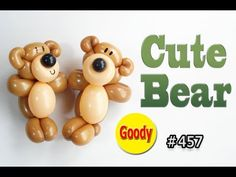 How to make Bear Balloon ♥ 可愛いクマちゃんを作ろう! 【かねさんのバルーンアート】 Baloon Art, Balloon Animals, Animal Balloons, Balloon Modelling, Gothic Fairy, Lowbrow Art, Cute Bears, Henna Patterns, Eye Art