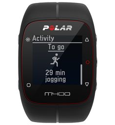 M400 A stylish GPS training companion with 24/7 activity tracking and heart rate moniter