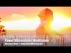 Law Of Attraction Positive Affirmations for Success & Abundance, Live A Prosperous Life - YouTube