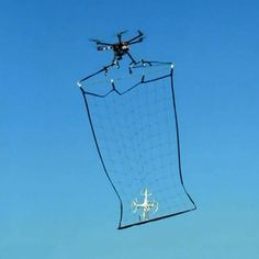 Tokyo's solution to rogue drones? Drones with nets…