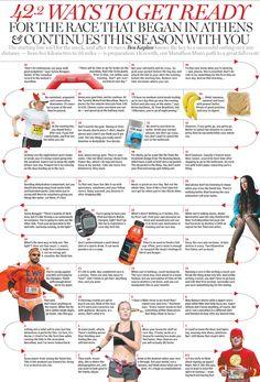 Fall marathon season: 42.2 ways to get ready for your big race