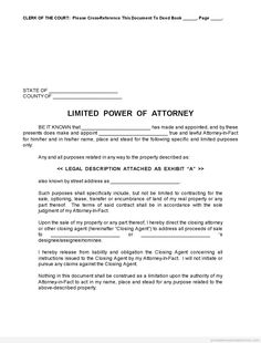 Special Power Of attorney form Fresh Free Printable Limited Power Of attorney forms [sample] Real Estate Forms, Signs Youre In Love, Power Of Attorney Form, Legal Forms, Resignation Letter, Online Form, Letter Sample, Letter Templates, Templates Free