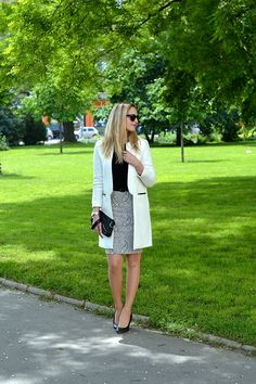 Style Cookbook by Simone: {outfit} pencil skirt