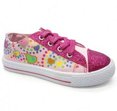 Totsy: Girls Lace Up Sneakers only $6!!