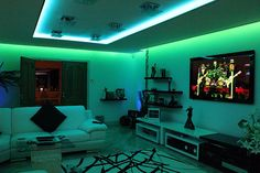 LED RGB light strips for the bedroom!! Many colors too, for only $25!