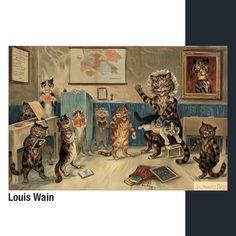 Pintor londinense de finales del siglo XIX. Canvas Art Prints, Canvas Wall Art, List Of Animals, English Artists, Puzzle Box, Large Wall Art, New Artists, Jigsaw Puzzles, Poster Prints