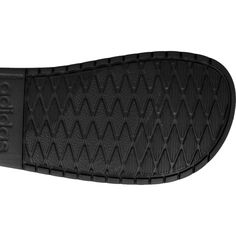 Adidas Aqualette Slippers In black Swimming Sport, Adidas Brand, Sports Shoes, Shoe Collection, Adidas Shoes, Slippers, Stripes, Sandals, Chic