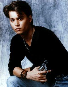 Johnny Depp on 21 Jump Street #yum