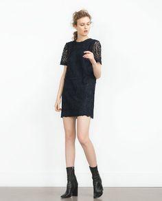 ZARA - COLLECTION SS16 - LACE DRESS Zara Official Website, Kebaya, Zara Women, Bridesmaid Dresses, Bridesmaids, Lace Dress, What To Wear, Women Wear, Style Inspiration