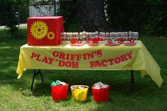 Griffin's Play-doh Party | Project Nursery