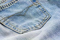 i can never find light colored jeans these days! ugh! so i found an alternative answer: How to Bleach Blue Jeans