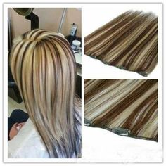 Description: Have u ever used hair extensions to do hairstyle? Add length and volume in minutes!Change your hairstyle now!