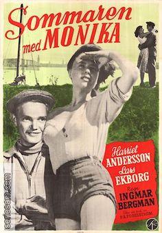 Sommaren med Monika/Summer with Monika. 1953. Director: Ingmar Bergman. Writers; Bergman, Per Anders Fogelström. cinametographer: Gunnary Fischer. Cast: Harriet Anderson, Lars Ekburg.