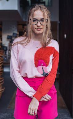 Suéter Flamingo - Prima Verão verão 2018 - Tendências de moda