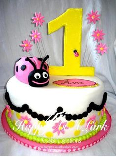 Happy As A Lark Cake Creations