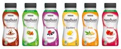 Nestle Nesfluid functional beverage range